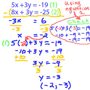 solving systems of equations using elimination worksheet pdf