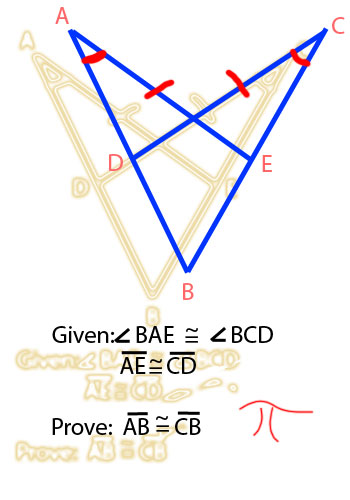 Proving Segments Congruent Using Cpctc Algebra And Geometry Help
